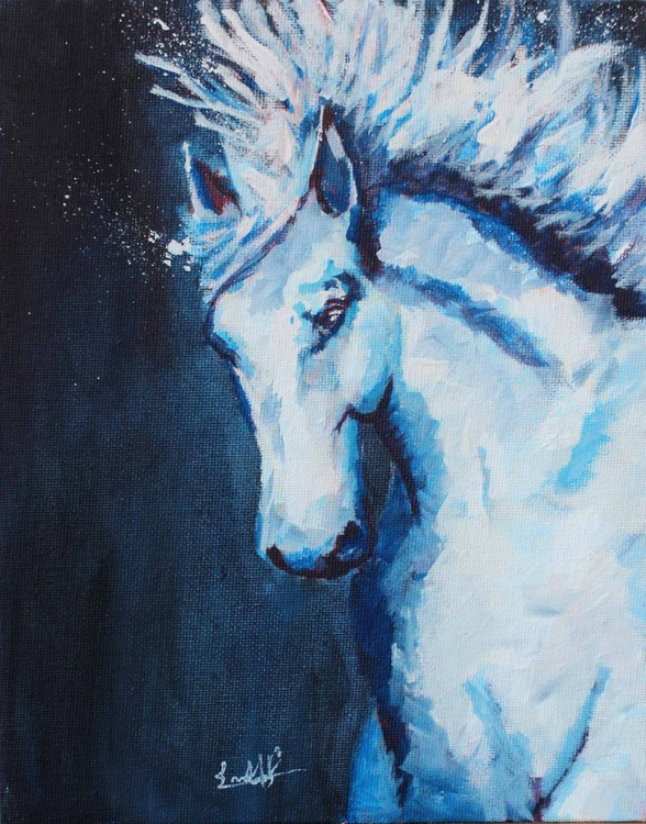 Winter Horse - Image 0