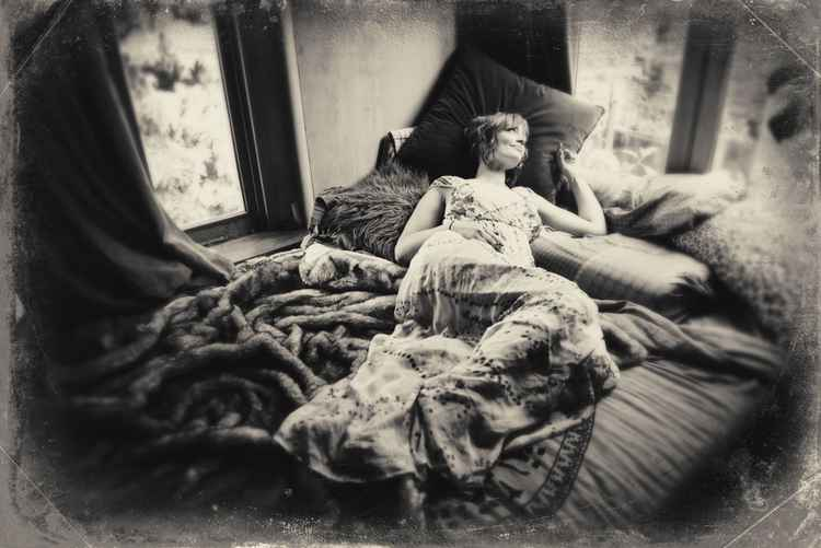 Wet Plate (one of a kind, framed)