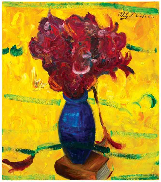 Blue Vase  (90x80cm)