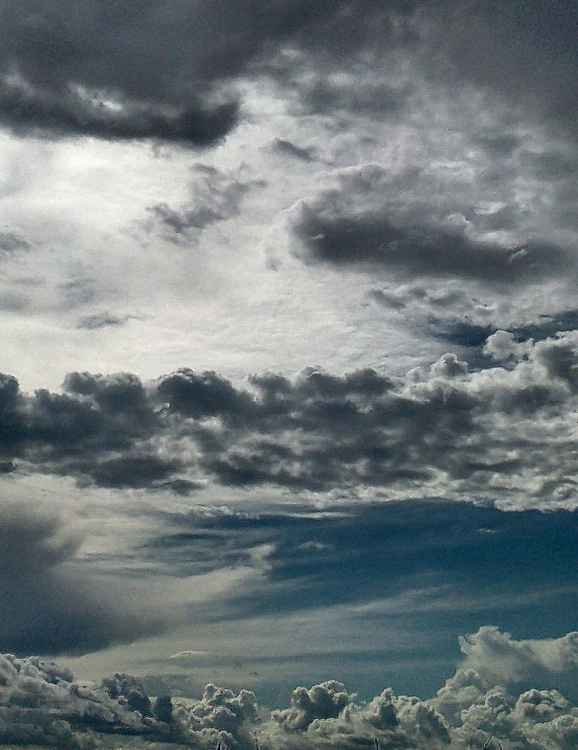 just some clouds -