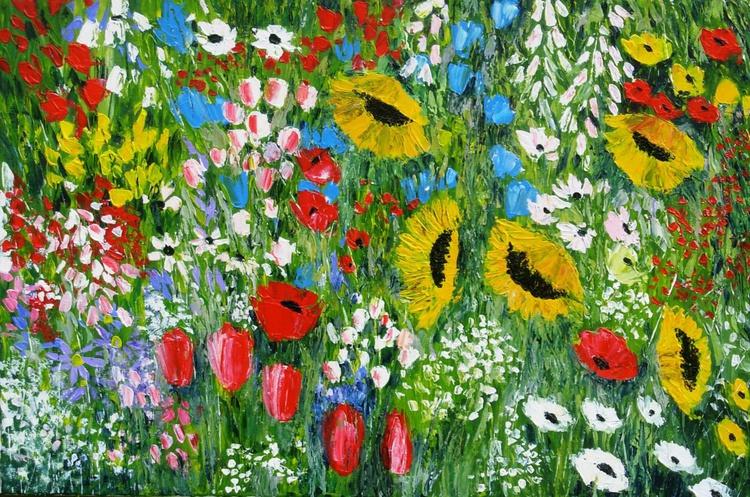 Garden Sunflowers - Image 0