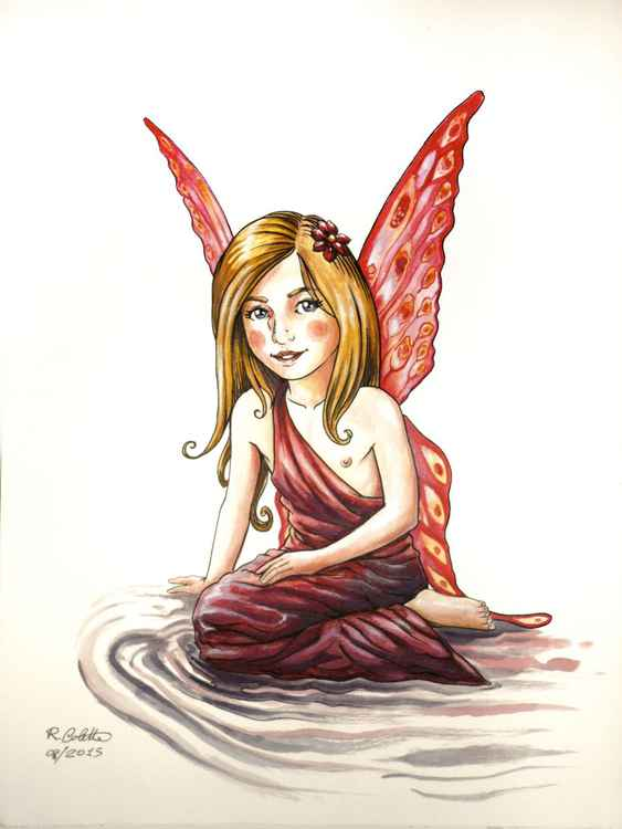Red Cheeks Fairy -