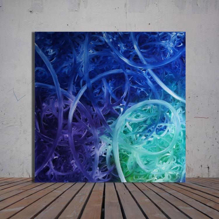 Tangled (100 x 100 cm) - Image 0