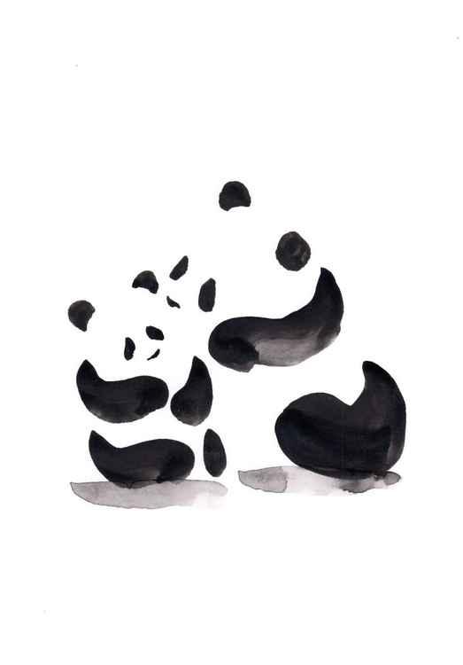 Panda and a cub 2130A -