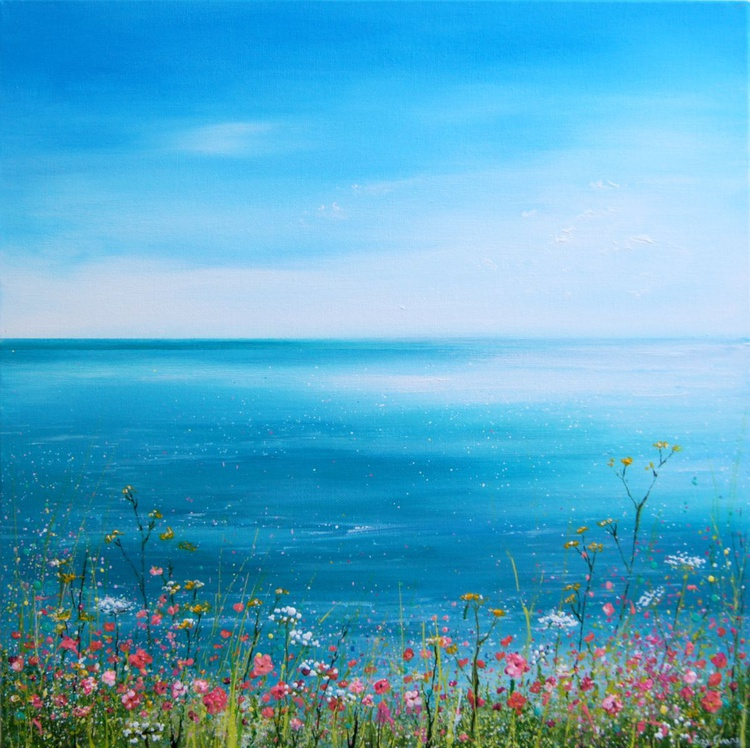 Seascape Painting - Summers Day - Image 0
