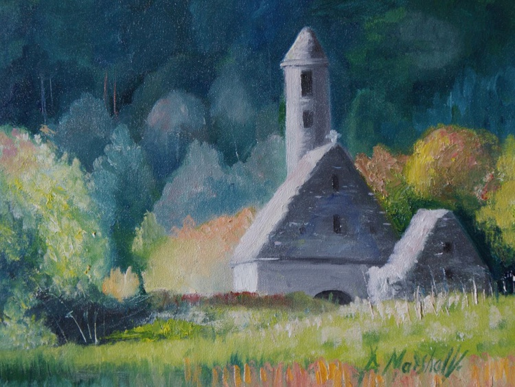 St Kevins, Glendalough - Image 0