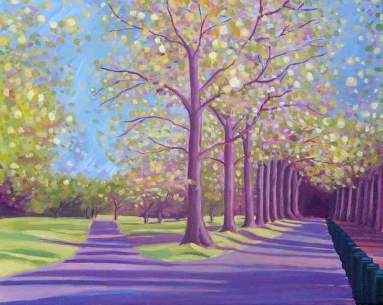 Autumn in Hyde Park -