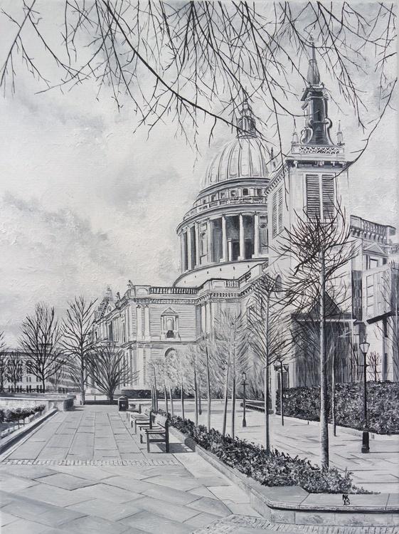Winter at St Pauls - Image 0