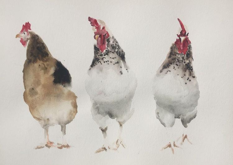 Three Chicks - Image 0