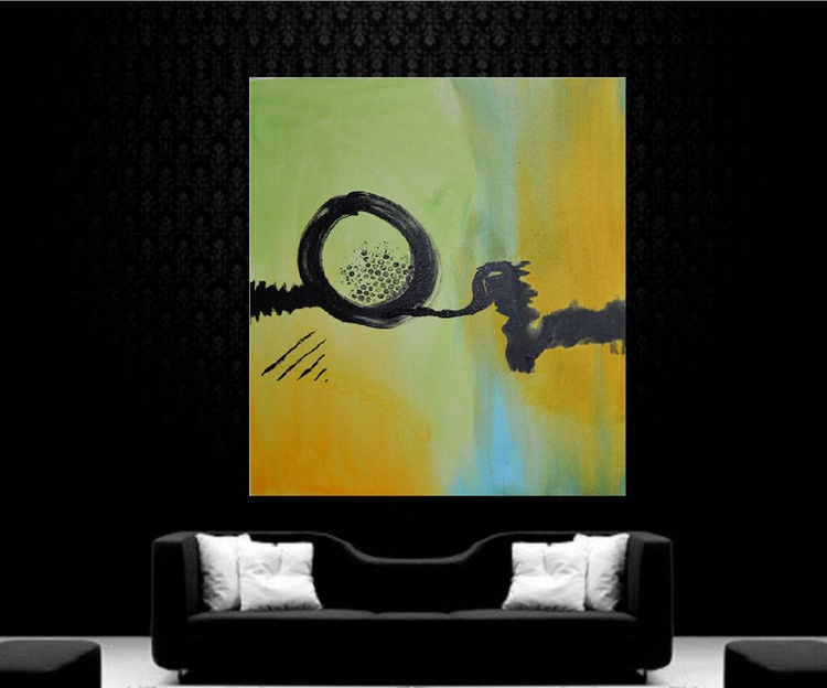 Abstract 1 (60 * 76 cm, Ready to Hang) - Image 0