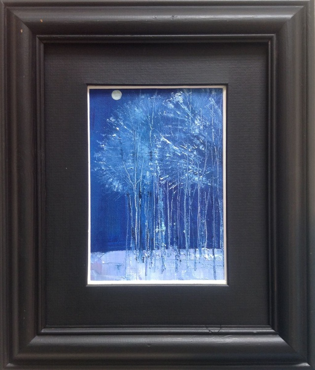 The Frosted Forest ( framed original) - Image 0