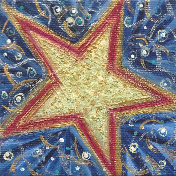 STAR ART ORNAMENT -