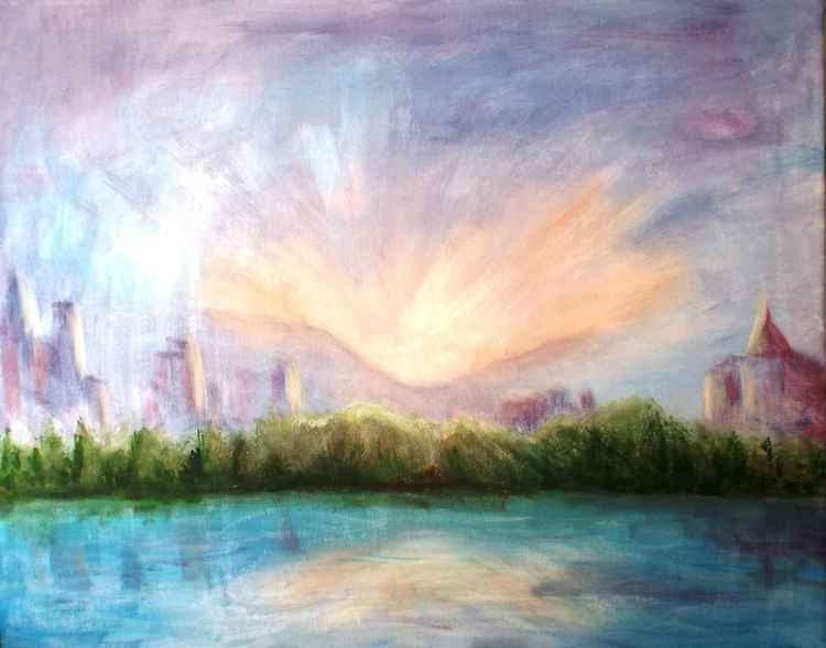 River City Sunset -