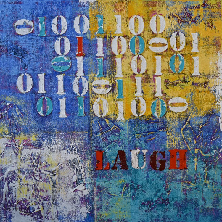 Binary Code - Laugh - Image 0