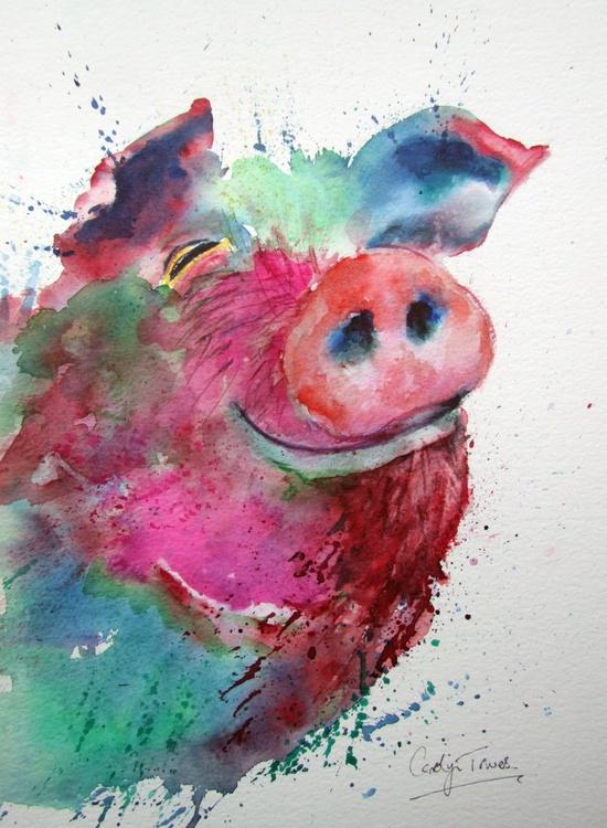 Sploshy, Happy Pig - Image 0