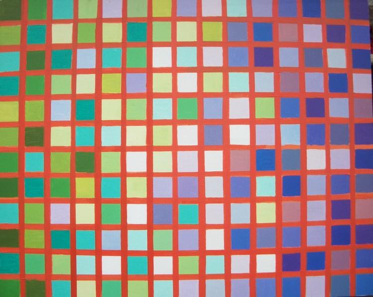 Green meets purple - Image 0