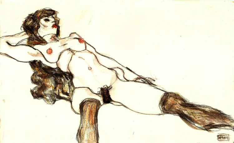 Inspired by Schiele [RESERVED FOR JOHN BEAMOND] -