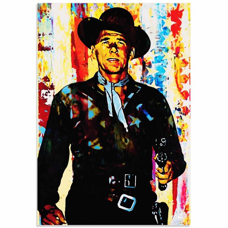 Mark Lewis 'Ronald Reagan Generation Extinction' Limited Edition Pop Art Print on Acrylic - Image 0