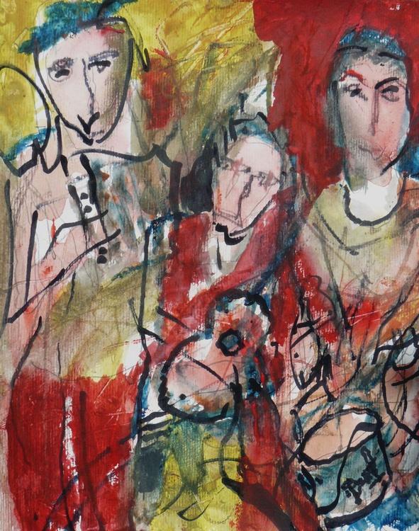 Street orchestra accordion - Image 0