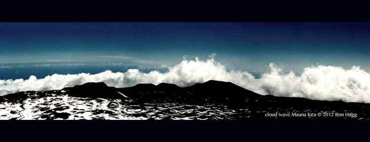 Cloud Wave - Mauna Kea - Hawai'i