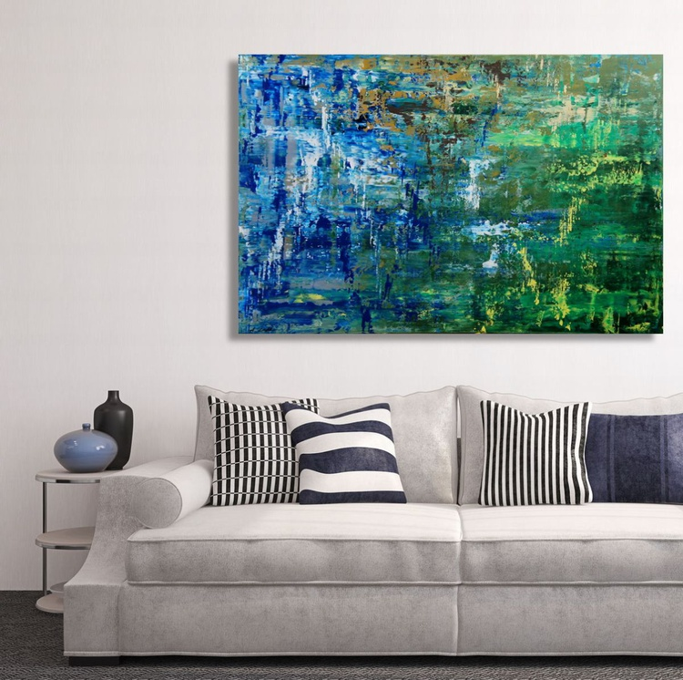 Floating III (120 x 80cm) - Image 0