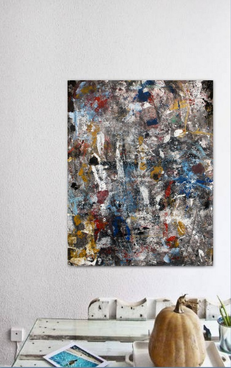 Nostalgia # 2 ,  Abstract Canvas Collection 2016 - Image 0