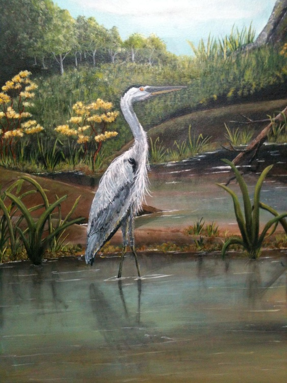 Heron on Owsley Fork - Image 0