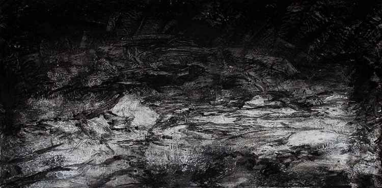 Lost Rocks 12.02.14 (81x40cm) -