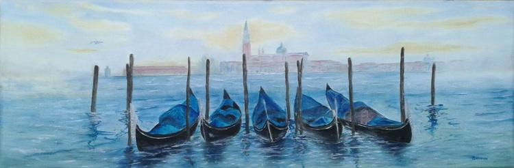Misty Morning in Venice - Image 0