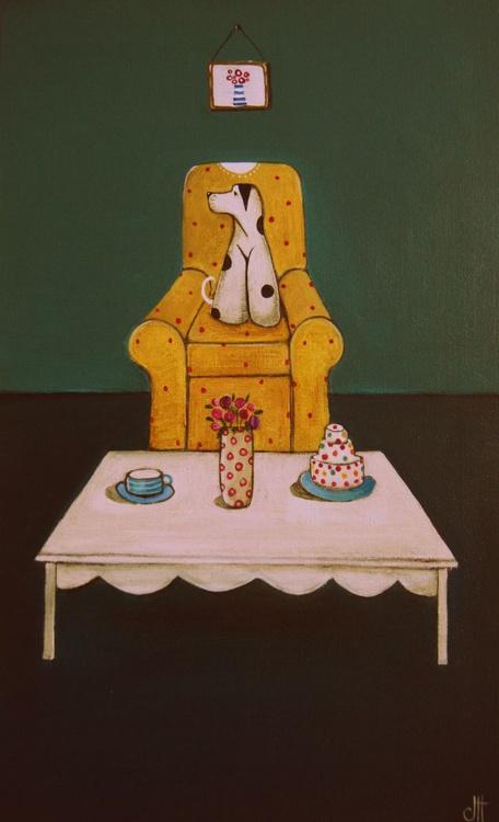 Molly Awaits Cake and Tea.., - Image 0