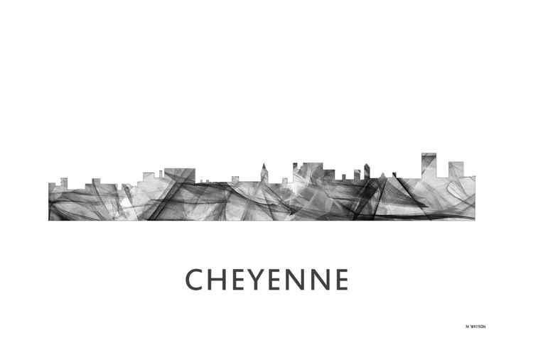 Cheyenne Skyline WB BW -