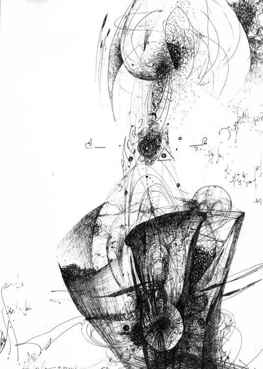 UNIQUE FANTASTIC WAY TO DRAW STILL LIFE LIKE COSMIC ENERGY BY KLOSKA NEW DRAWING - Image 0