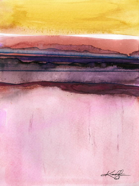 Ethereal Travels 2 - Abstract Watercolor Painting - Image 0