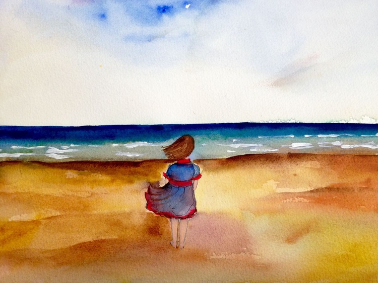 Alone by the Sea - Image 0