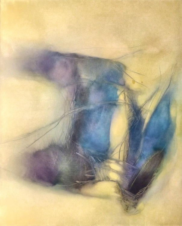 Oil on canvas #22, 100x81 cm - Image 0