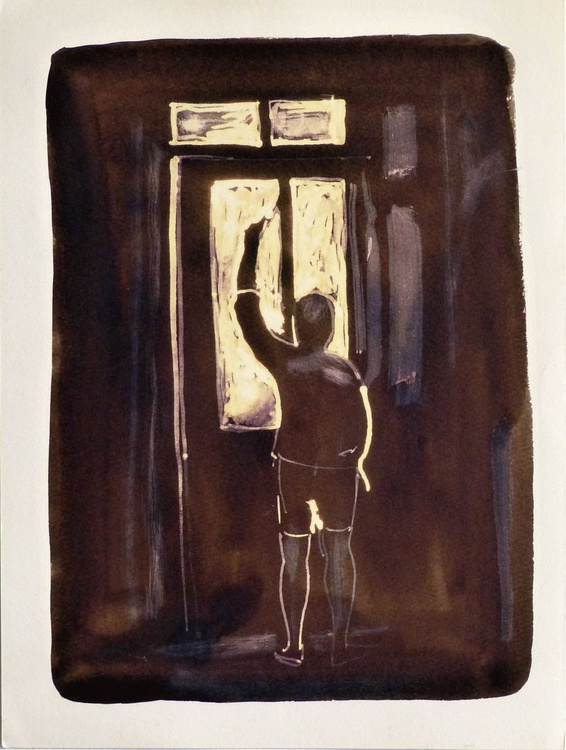 The Window, 24x32 cm - Image 0