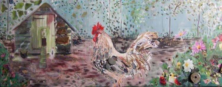 Cockerel and hen house - Image 0
