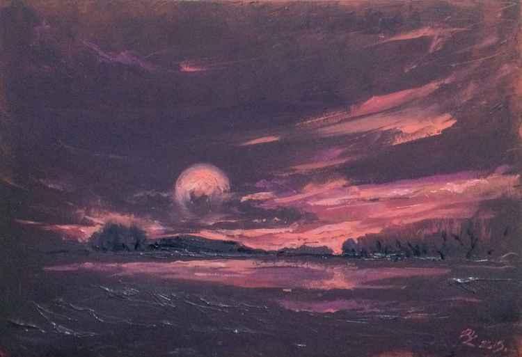 Purple horizon (90*60)