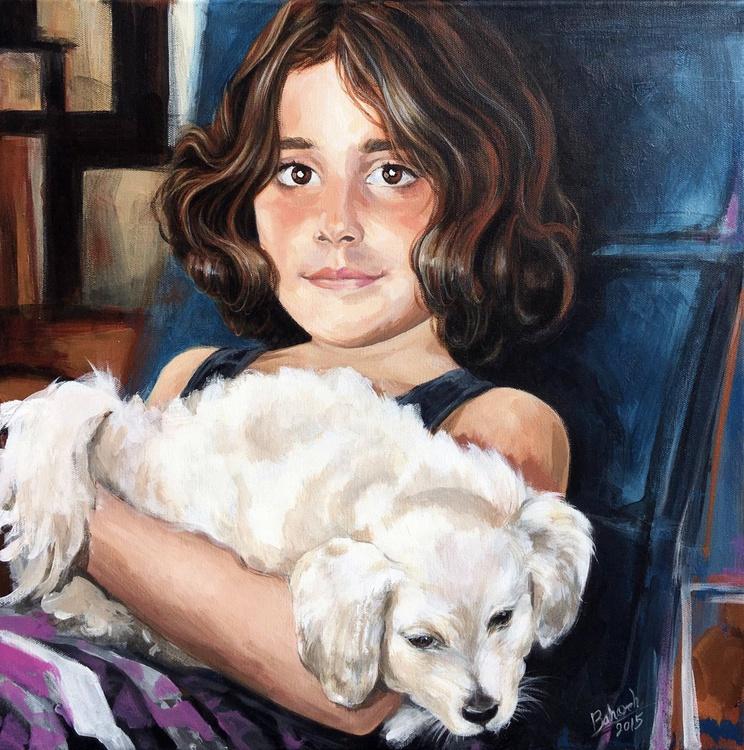 Kiana and doggi - Image 0