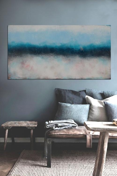 pitch blue (140 x 70 cm) - Image 0