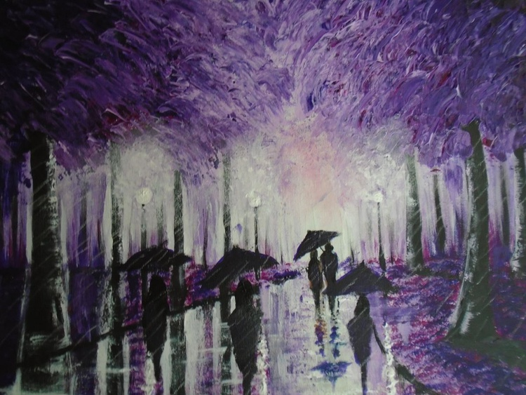 Purple path - Image 0