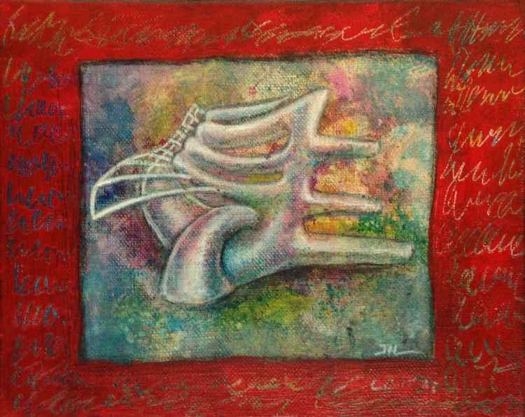 Paysage cuivré (painting) -