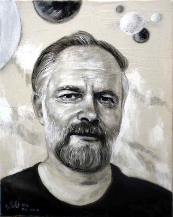 Portrait of Philip K Dick - Image 0
