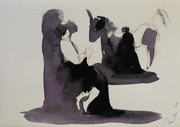 Horse 3, 21x15 cm - Image 0