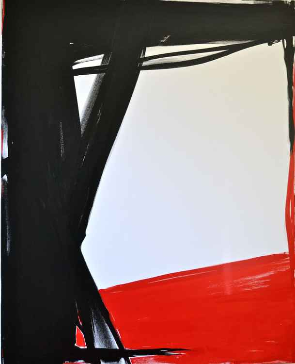 RED, WHITE AND BLACK -