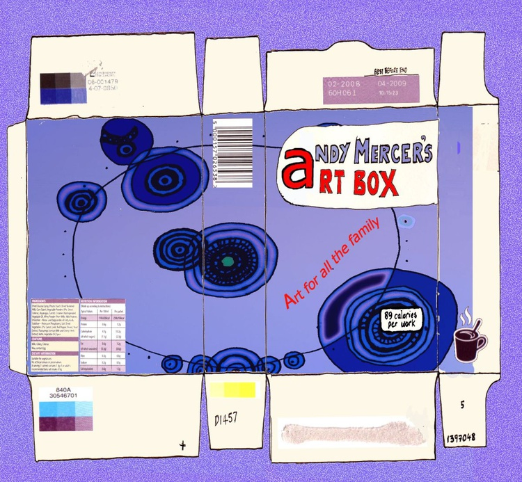Andy Mercer's Art Box - Image 0