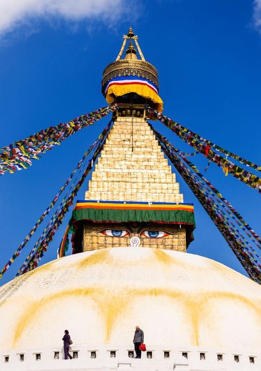 Boudhanath Stupa II (84x119cm) - Image 0