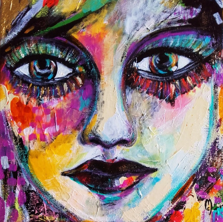 These eyes Woman Portrait - Image 0