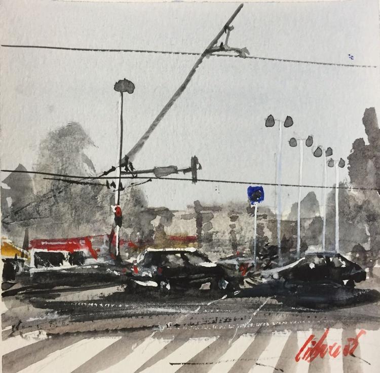 Cityscape 1 - squared 13x13 - Image 0