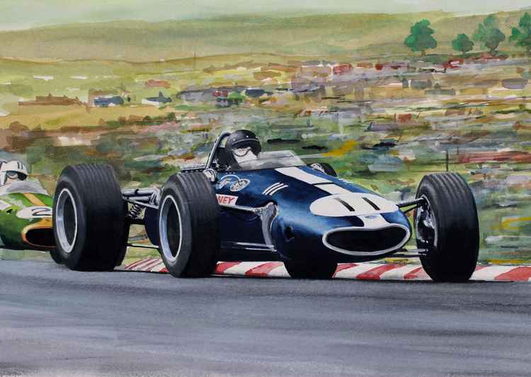 Dan Gurney   USGP 1967 -
